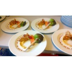 Pavé de saumon grillée,...