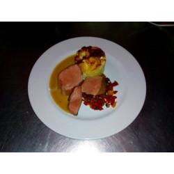 Salade de saumon fumé bio